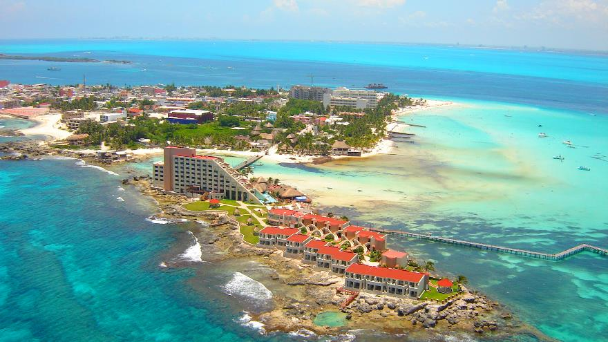 Isla Mujeres Aerial Tour